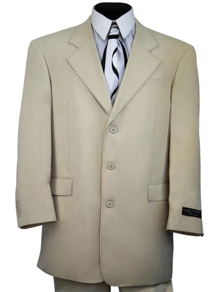 Mens 2pc Cream zoot
