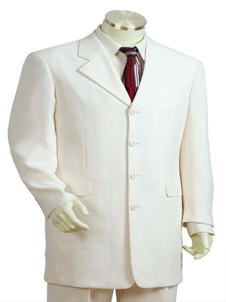Mens Designer Wool 3pc