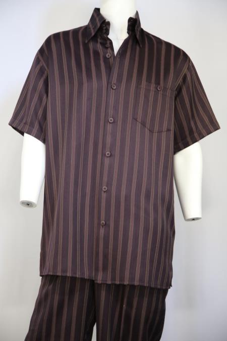 Mens Classic Contrast Stripes