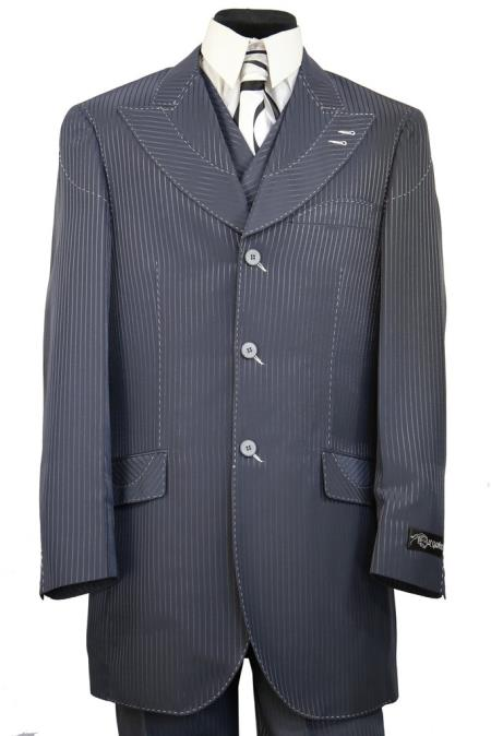 Mens Designer Arc Lapel