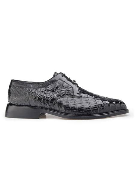 Belvedere Mens Genuine Crocodile