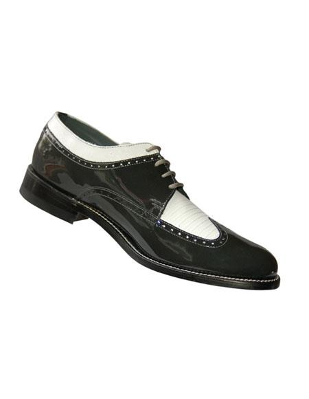 Mens 4 Eyelet lacing