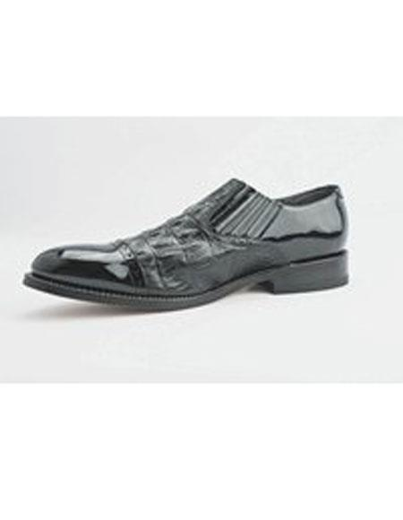 Mens Slip On Black