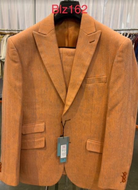 Men's single breasted Alberto Nardoni classic fit suit