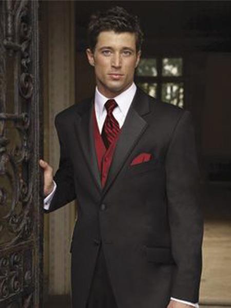 Mens Black Suit +