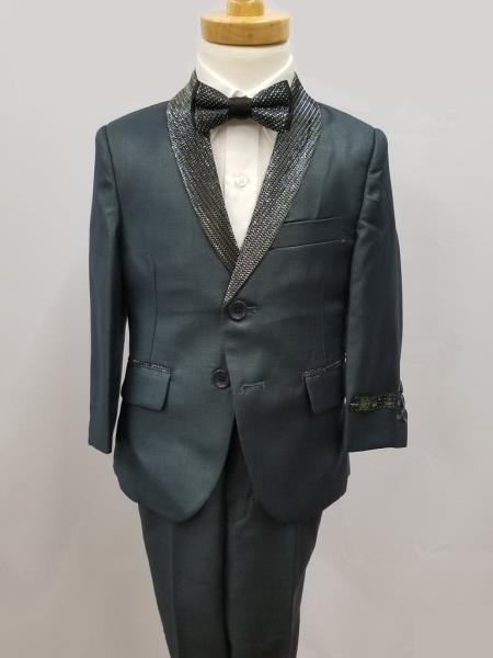 Mens Shawl Lapel Four