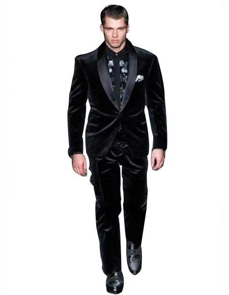 Velvet Tuxedo Dinner Jacket