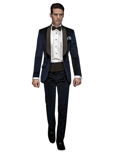 Velvet Dinner Jacket Tuxedo
