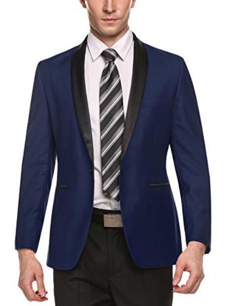 Product# JA466 men's Cheap Fashion big and tall Plus Size Sport coats Jackets Blazer For Guys Dark Blue