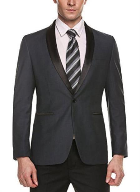 Product# JA467 men's Cheap Fashion big and tall Plus Size Sport coats Jackets Blazer For Guys Grey