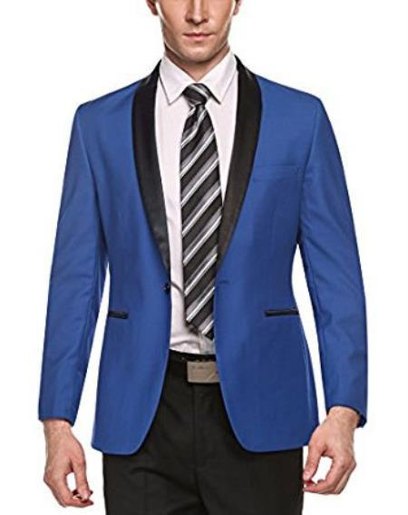 Product# JA471 Mens Cheap Fashion big and tall Plus Size Sport coats Jackets Blazer For Guys Light Blue