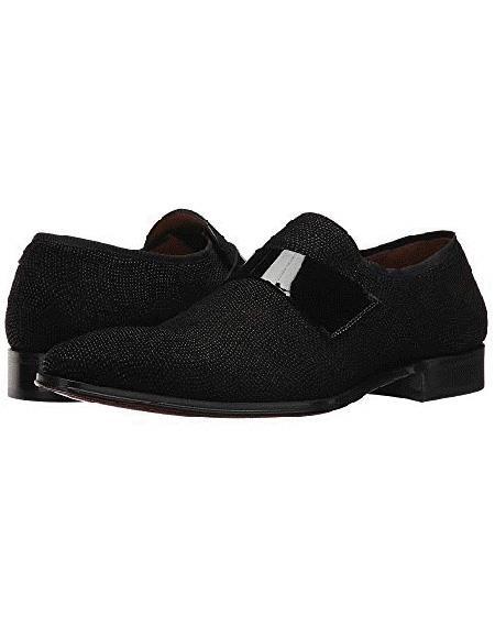 Mezlan Brand Black Slip