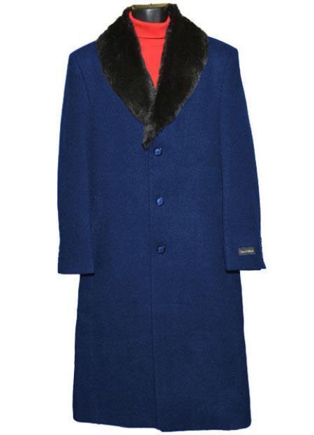 men's Big And Tall Trench Coat Raincoats Overcoat Topcoat 4XL 5XL 6XL Navy Blue