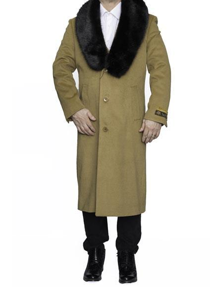 Product# MO743 Mens Big And Tall Trench Coat Raincoats Overcoat Topcoat 4XL 5XL 6XL Camel