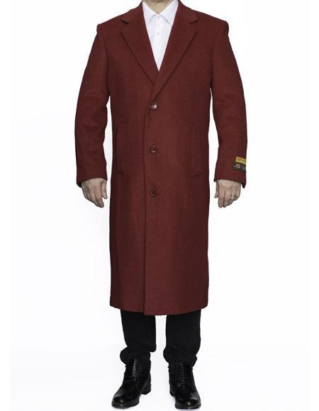 men's Big And Tall Trench Coat Raincoats Overcoat Topcoat 4XL 5XL 6XL Red
