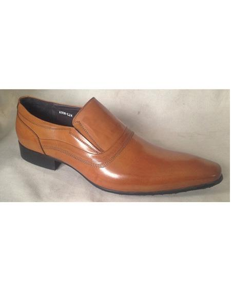 Mens Rust Slip On