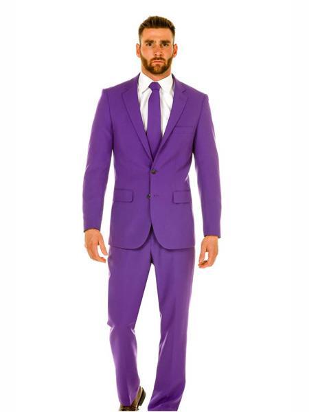 Mens Light Purple ~