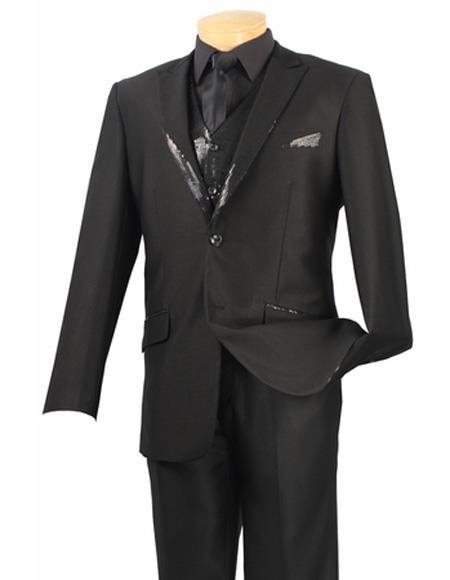 Mens Single Breasted Vest
