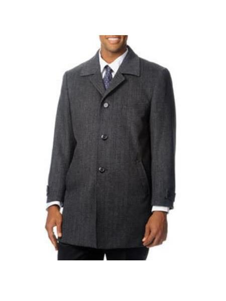 Mens Three Button Single