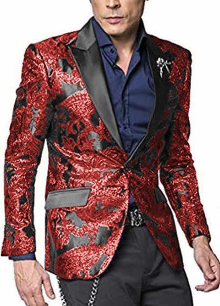 Product# WTX-400 Alberto Nardoni Shiny Jacket Hot Red