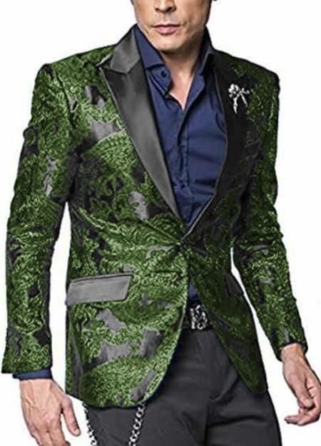 Alberto Nardoni Shiny Jacket Dark Green ~ Hunter