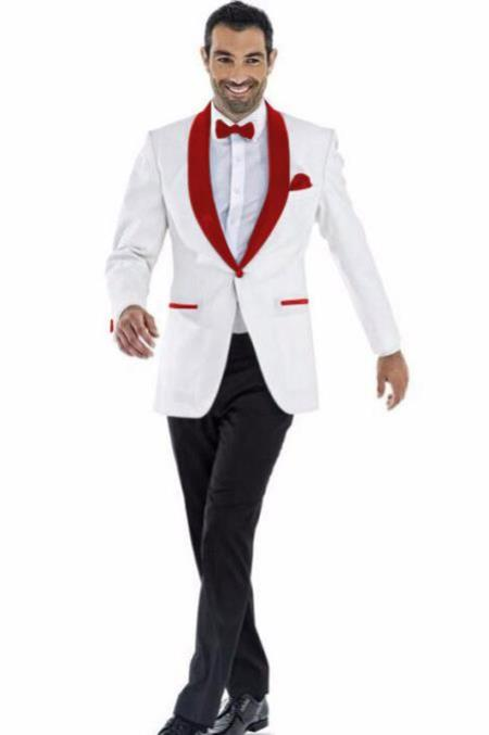 Mens Blazer White ~
