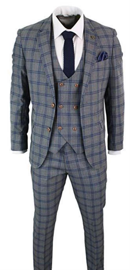 Mens Donald Grey and