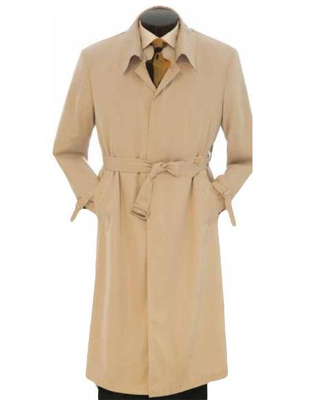 Product# EK399 Mens Big And & Tall Trench Coat Khaki