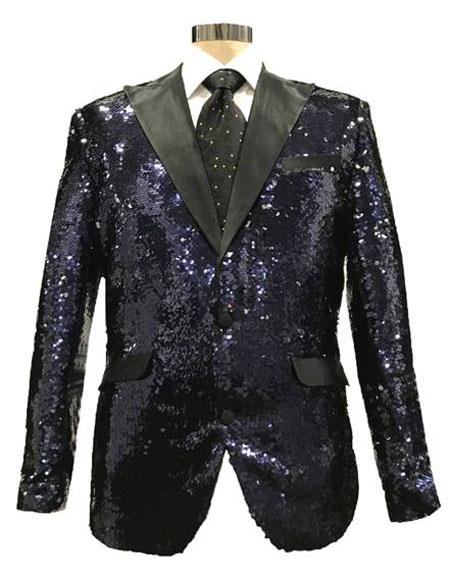Sequin Black & Silver