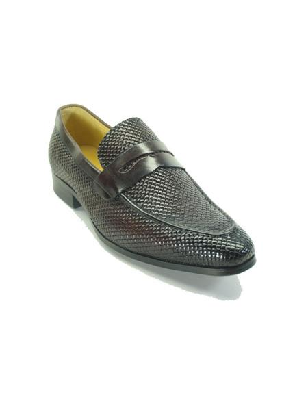 Monk Strap Leather Loafers