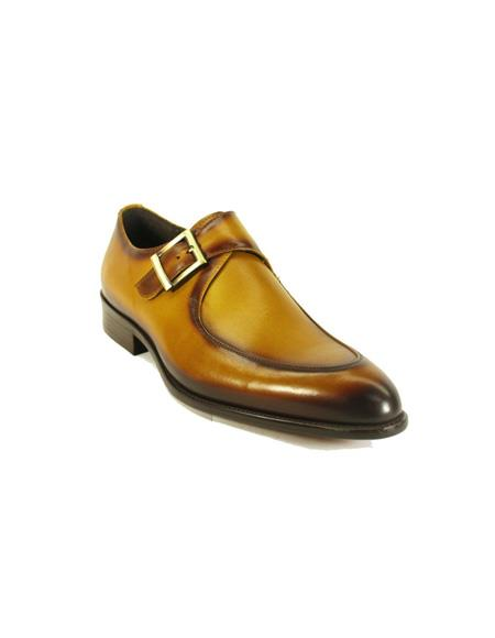 Monk Strap Leather Moc