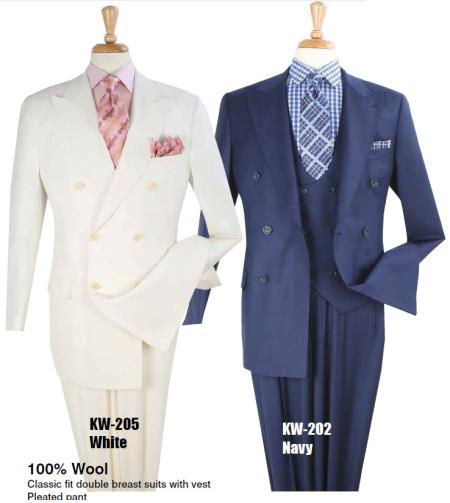 Pure White or Navy