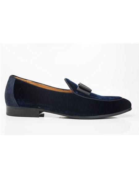 Carrucci Navy Lace Up