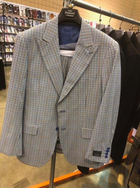 Peak Lapel Single Breasted