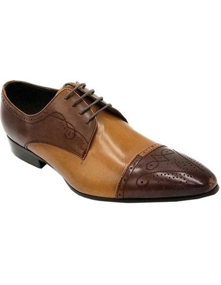 Lace Up Brown Premium
