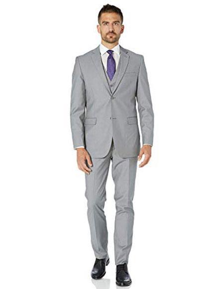 Light Grey Slim Fit