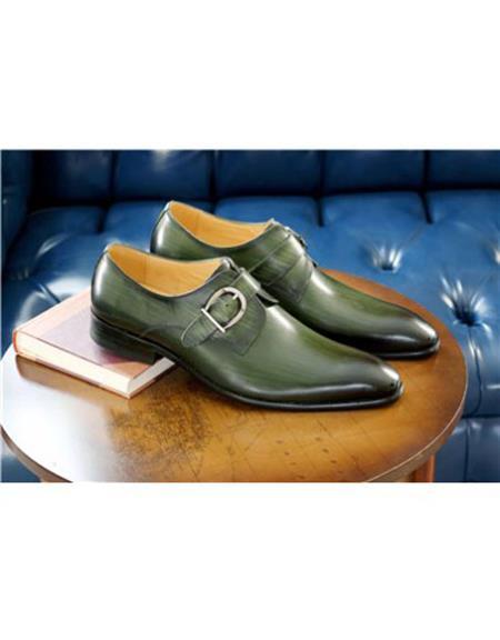 Stitched Welt Carrucci Shoe