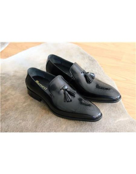 Slip On Black Carrucci