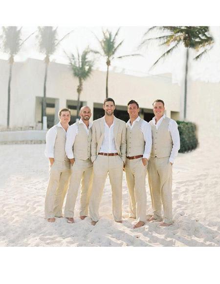 Menswear Beach Wedding Wedding Ideas