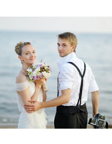Beach Wedding Attire Suit