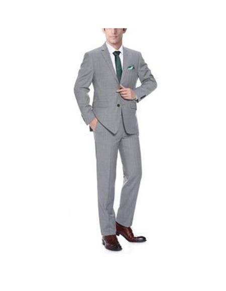 Mens Light Grey Single