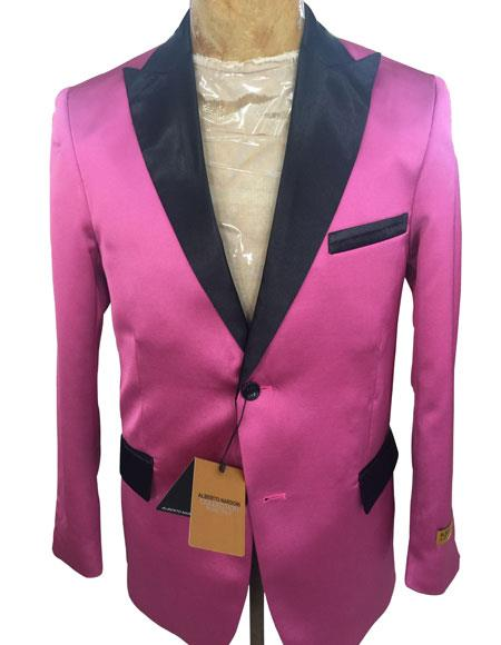 ~ FuchsiaTwo Button Blazer
