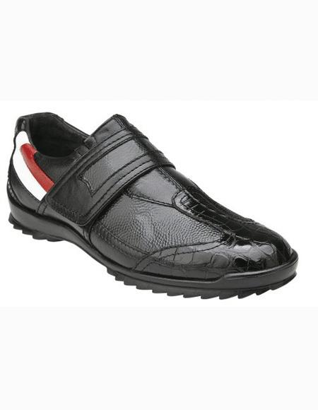 On Black Shoe