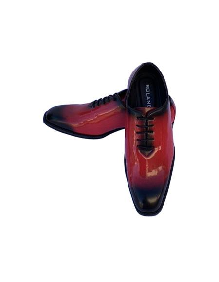 Dress Shoes Black/Red