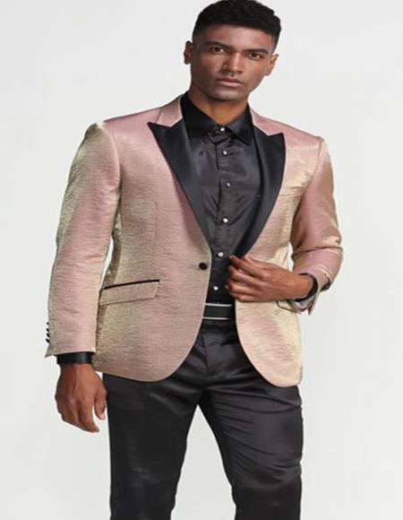 Single Breasted Peak Lapel