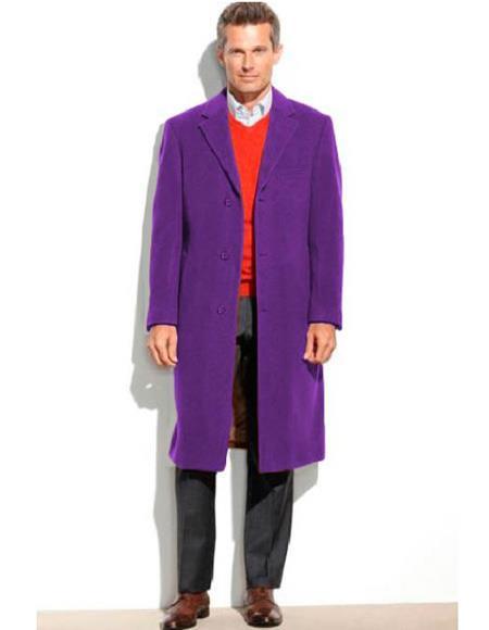 Joker Costume Overcoat For