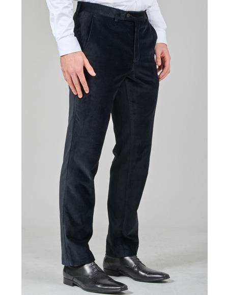 Front Pant Black Belt