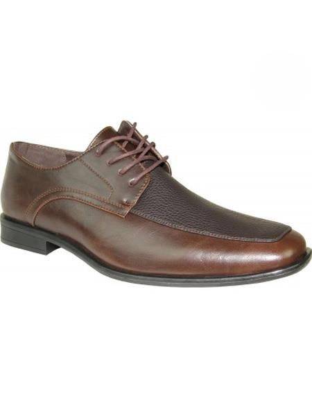 Brown Shoe Lace Up