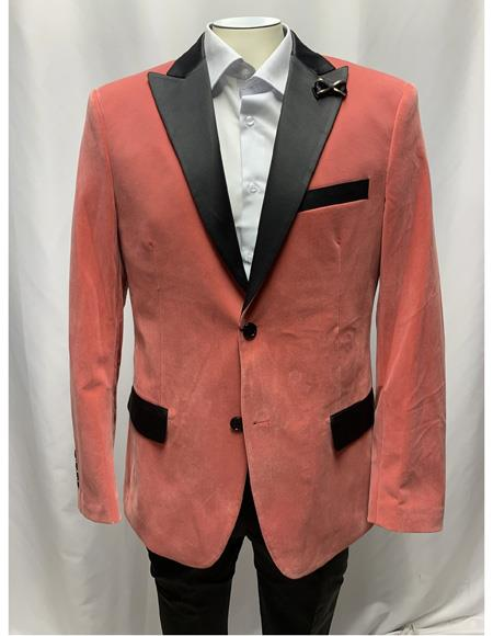 Breasted Slim Fit Dusty