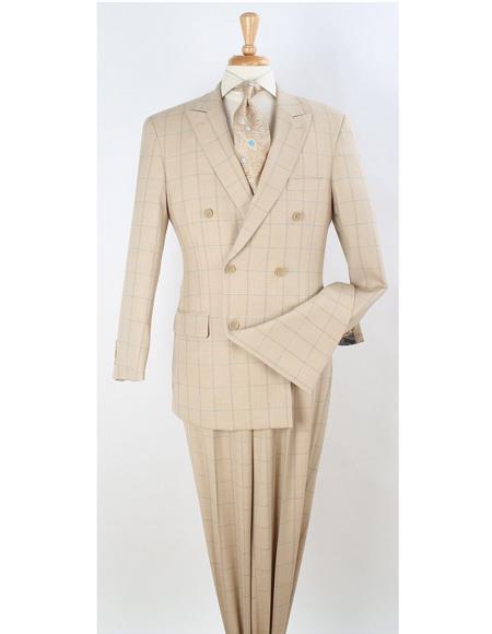 Lapel Suit Ivory